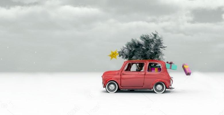 preparar coche viaje navidad